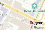 Схема проезда до компании Ай-Вент в Москве