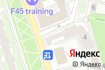 Схема проезда до компании Хорошие продукты в Москве