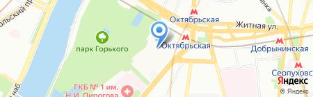 Текстильная группа на карте Москвы