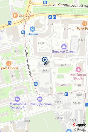СПЕЦИАЛЬНОЕ КОНСТРУКТОРСКОЕ БЮРО САМОХОДНОГО ГОРНОГО ОБОРУДОВАНИЯ на карте Москвы