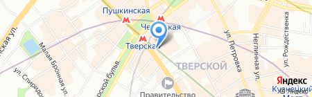 Успех на карте Москвы