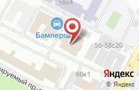 Схема проезда до компании Тк Финит в Москве