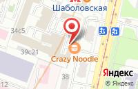 Схема проезда до компании Кадровый Центр  в Москве