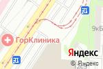 Схема проезда до компании Мир Дверей в Москве