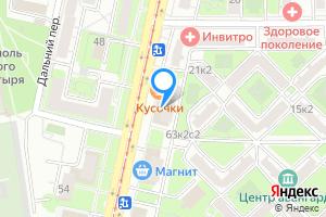 Комната в двухкомнатной квартире в Москве ул. Шаболовка, 63к1