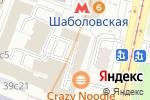 Схема проезда до компании Магазин мебели Дебют в Москве