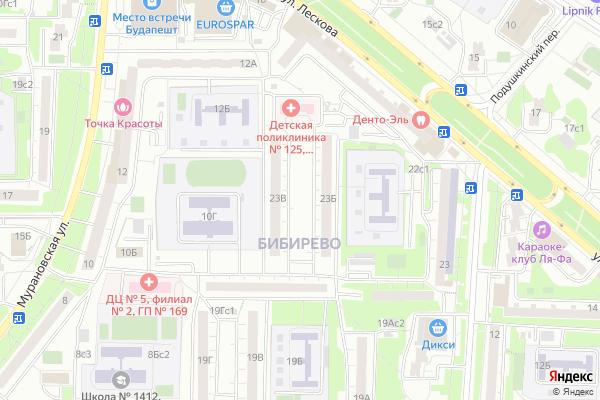 Ремонт телевизоров Район Бибирево на яндекс карте