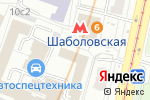 Схема проезда до компании Решение здесь в Москве