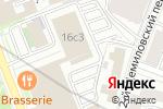 Схема проезда до компании Адонис в Москве