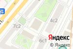 Схема проезда до компании OSPEVENT в Москве
