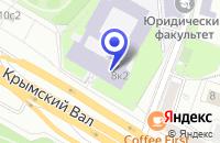Схема проезда до компании ПТФ INTERQUADRUM в Москве