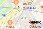 Схема проезда до компании Potyaev Orthodontics в Москве