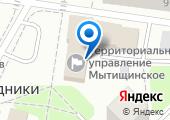 Магазин цветов и подарков на ул. Поведники пос на карте