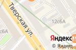 Схема проезда до компании Bad Bed Shop в Москве