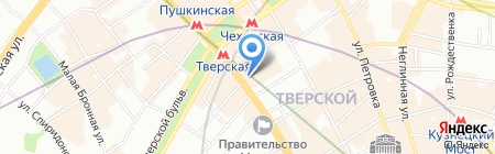 Луис Дрейфус Коммодитиз Восток на карте Москвы