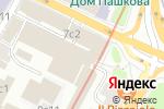 Схема проезда до компании Globaleye в Москве