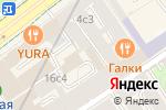 Схема проезда до компании Просторы в Москве