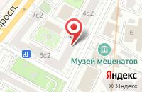 Схема проезда до компании Вилтан в Москве