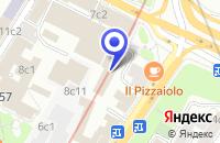 Схема проезда до компании КОНСАЛТИНГОВАЯ КОМПАНИЯ БЛЭКВУД в Москве