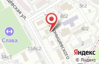 Схема проезда до компании Межрегиональный Союз Строителей Объектов Газового Хозяйства в Москве