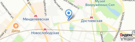 Либберто на карте Москвы