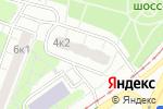 Схема проезда до компании Амор Дент в Москве