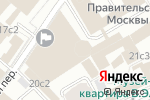 Схема проезда до компании Штаб по защите бизнеса в Москве
