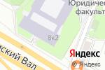 Схема проезда до компании Red square designe в Москве