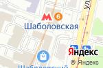 Схема проезда до компании Центр юридических услуг в Москве