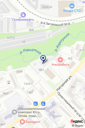 ПТФ ЦЕНТРОПЛАСТ на карте Москвы