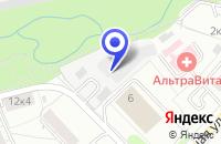 Схема проезда до компании ТВС-ПРИМ в Москве