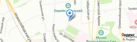 Дачный альянс на карте Москвы