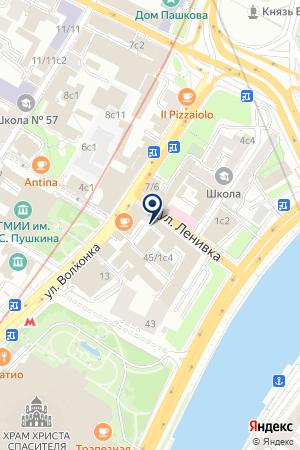 ОО ОХОТНИЧИЙ КЛУБ САФАРИ на карте Москвы