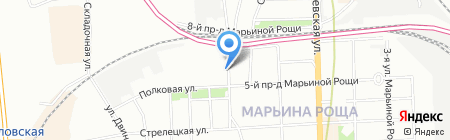 Dona Jerdona на карте Москвы