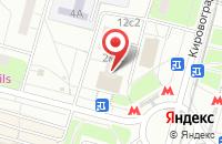 Схема проезда до компании Маол в Москве