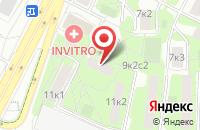 Схема проезда до компании Салон-Пресс в Москве