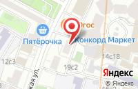 Схема проезда до компании Випторг в Москве