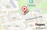 Схема проезда до компании Экспо Плюс Проект в Москве