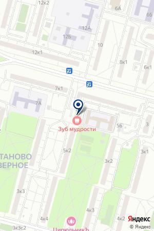 БУЛОЧНАЯ-КОНДИТЕРСКАЯ КАСОШ-1 на карте Москвы