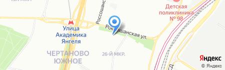 ГОРОД КРАСОТЫ на карте Москвы