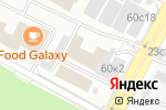 Схема проезда до компании Soffitti в Москве