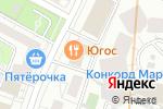 Схема проезда до компании Союз участников потребительского рынка в Москве