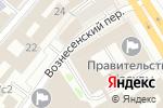 Схема проезда до компании Аст вывоз мусора в Москве