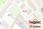 Схема проезда до компании ДентаВита в Москве