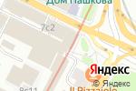 Схема проезда до компании Большая Медведица в Москве
