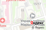 Схема проезда до компании Vita Group в Москве