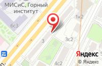 Схема проезда до компании Геокс-Рус в Москве