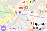 Схема проезда до компании RB-hit.ru в Москве