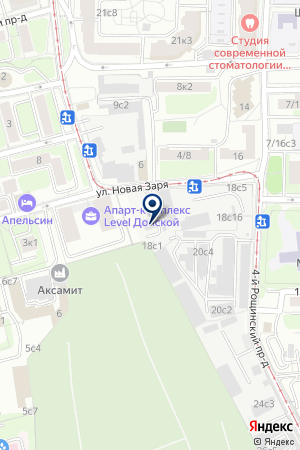 АВТОМОБИЛЬНАЯ КОМПАНИЯ ЛИМУЗИН на карте Новой
