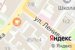 Схема проезда до компании ГрузЛетит.рф в Москве